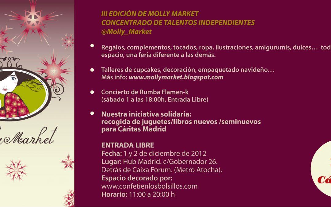 La Huella en la edición navideña de Molly Market