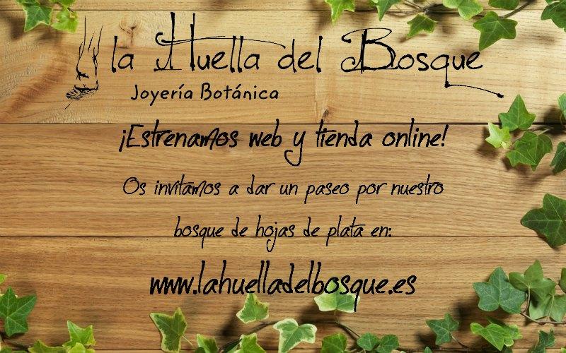 Nueva web de La Huella del Bosque