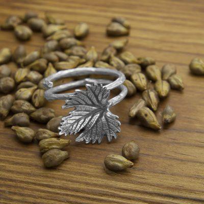 anillo vid plata