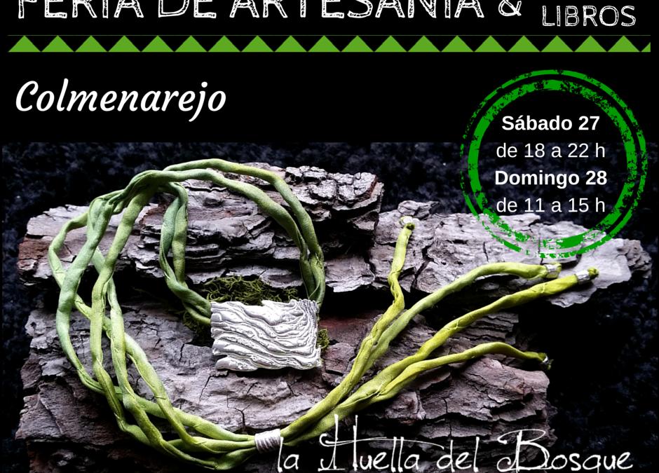 La Huella del Bosque en El Feria de Artesanía de Colmenarejo