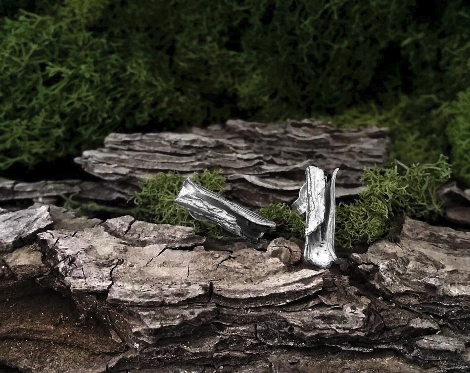 Pendientes de madera de pino la huella del bosque - Maderas del pino ...