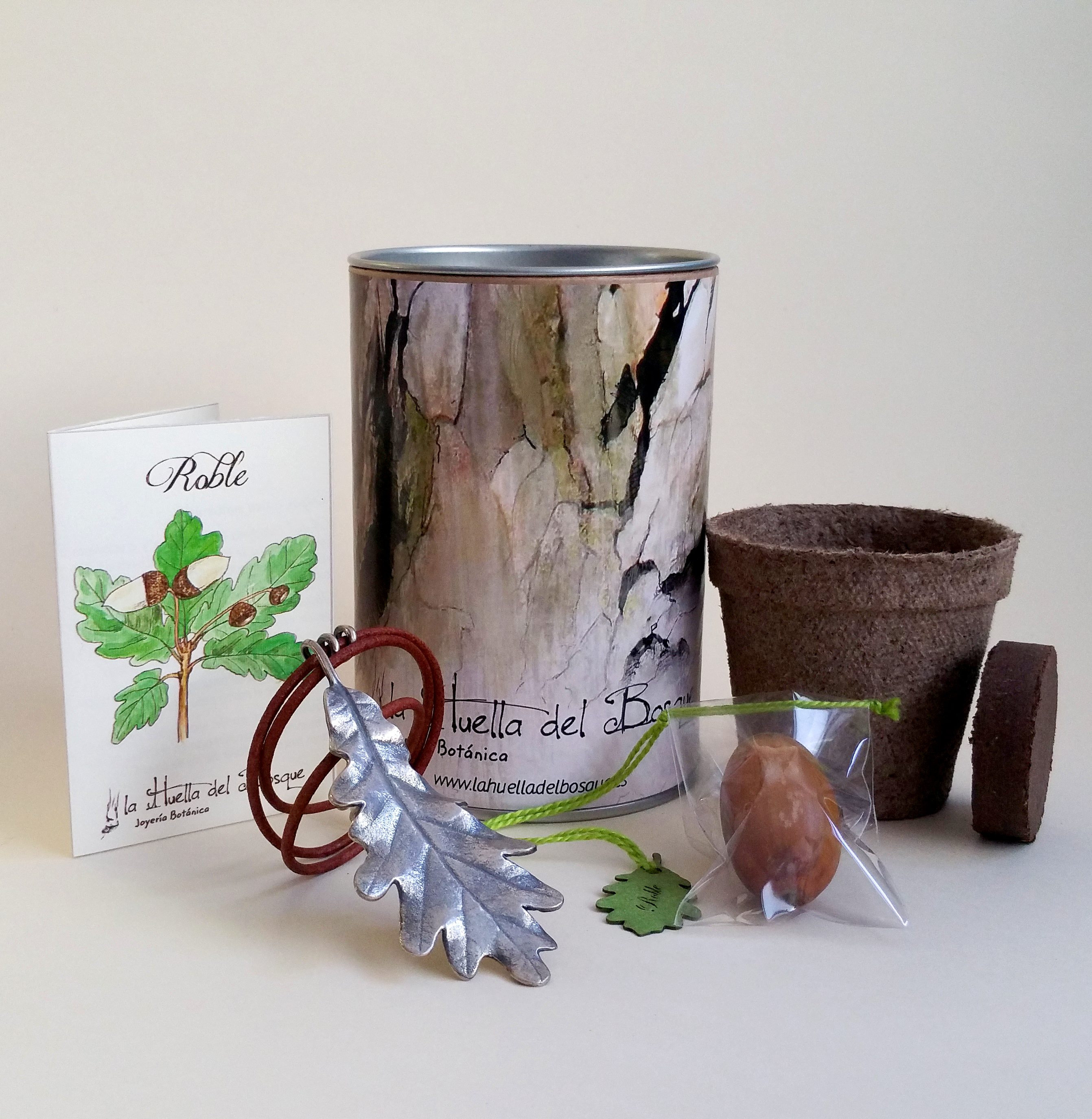 Packaging la Huella del Bosque
